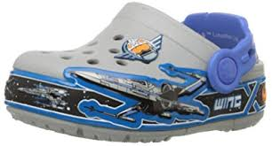 star wars crocs light up amazon com crocs kids star wars x wing light up clog clogs mules