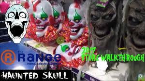 the range halloween 2017 store walkthrough pt1 youtube