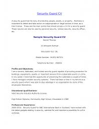 Resume Objective For Bank Job by Criminal Justice Resume Samples Buzz Objective Lovely Security