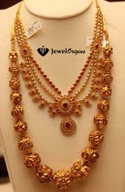 gold necklace ruby images Designer gold and diamond jewellery indian jpg