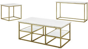 coaster company satin nickel coffee table isabelle marble top coffee table by donny osmond from coaster