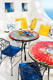 Small Mosaic Patio Table by Attention To Detail Is What Makes Each Pier 1 Mosaic Outdoor Table