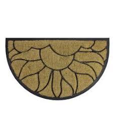 Coir And Rubber Doormat Smith Hawken Decorative Black Rubber Door Mat