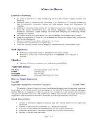 Sample Resume Pdf Student by Informatica Administration Sample Resume 22 Format Of Resume Pdf