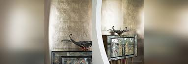 misha gold leaf handmade wallpaper makes your environment vintage