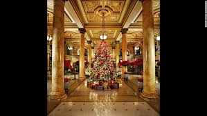 10 hotels where christmas is special cnn travel