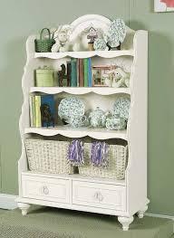 kids bookcase design bird cream stripped antique stained ceramic