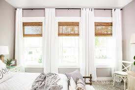 Montgomery Blinds Ideas Interesting Window Blackout Fabric And Bamboo Blinds And