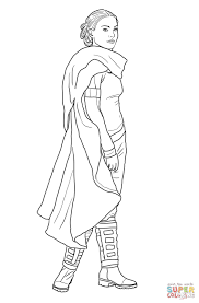 padme amidala coloring page free printable coloring pages