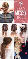 Easy On The Go Hairstyles by Best 25 Back Braid Ideas On Pinterest Easy Hair Flower Bun And