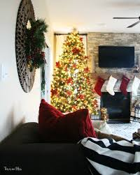 photos of homes decorated for christmas merry bright u0026 blissful holiday home 12 days of christmas home