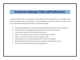 Restaurant Manager Resume Samples by Restaurant Assistant Manager Resume Templates Restaurant Manager