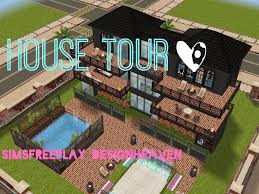 sims freeplay house tour pool skater mansion youtube