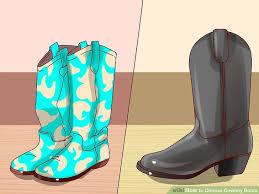 used womens cowboy boots size 11 how to choose cowboy boots 14 steps with pictures wikihow
