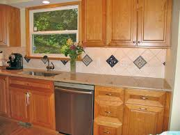 tile accents for kitchen backsplash accent tiles in backsplash minimalist