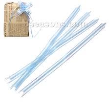 pull bows wholesale wholesale pvc pull bows decorations blue ab color stripe pattern