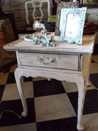 distressed white side table distressed end tables popular grace upon al white table 42 00 within