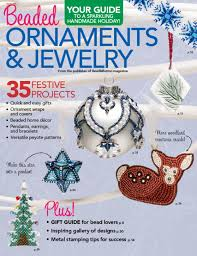 beaded ornaments jewelry magazine digital discountmags