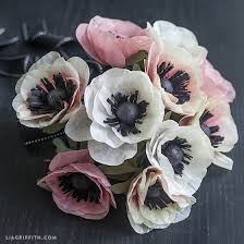 anemones flowers diy tissue paper anemone tutorial lia griffith