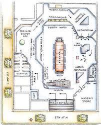 holocaust museum floorplan