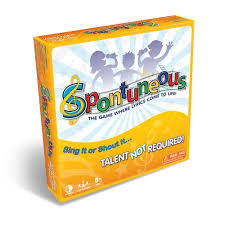 amazon com spontuneous the song game sing it or shout it