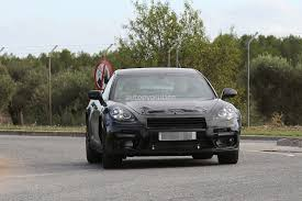 2018 bentley continental gt spied hiding as porsche panamera will