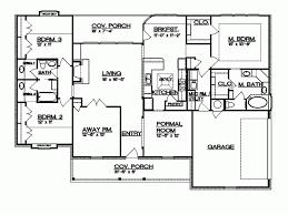 4 bedroom split floor plan 4 bedroom split ranch house plans www cintronbeveragegroup com
