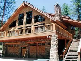 house plan with garage under