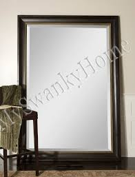 large 82 wall mirror wood xl length