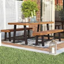 wood outdoor dining set outdoor dining tables wood patio dining