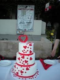 another view of the red velvet wedding cake yelp