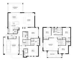 Impressive 4 Bedroom House Plans The Best Of 12m Frontage Home Design Thesouvlakihouse Com Wide