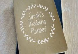personalized wedding planner personalized wedding planner book siudy net