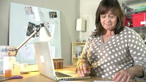 Design Business From Home Woman Running Jewelry Business From Home Using Laptop To Check