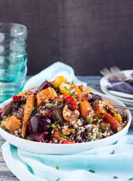 Roasted Vegetable Recipe by Roasted Vegetable And Quinoa Salad Eazy Peazy Mealz
