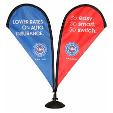 table banners and signs tear drop banners rjm systems
