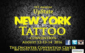 upstate new york tattoo convention the oncenter nicholas j