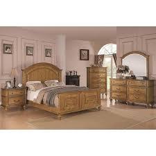 Emily Bedroom Furniture Emily Bedroom Set Light Oak Coaster Furniture Furniture Cart