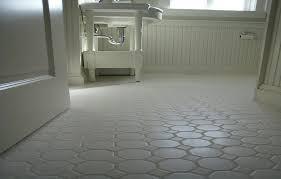 Concrete Floor Bathroom - modern concept white hexagon concrete bathroom floor tile