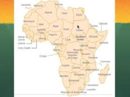 africa map 54 countries map of africa mnemonic device project