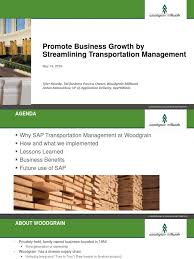 Ashworth By Woodgrain Millwork by Supply Chain Transportation Sap Cargo Services Economics