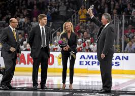 La Kings Flag L A Kings Revisit 1993 Stanley Cup Final Run By Honoring Barry