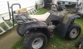 honda fourtrax rancher 4x2 motorcycles for sale