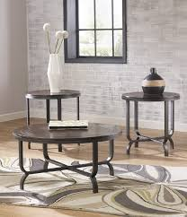 set of three end tables occasional tables 3 pack sets furniture decor showroom