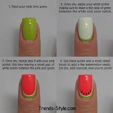 best 10 watermelon nails ideas on pinterest summer nails cute