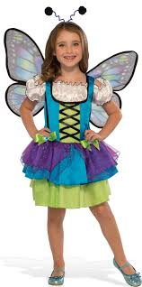 butterfly costume kids glittery blue butterfly costume size medium 8 10 630946