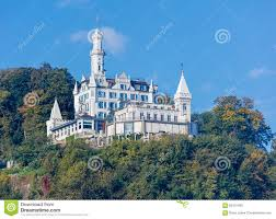 chateau gutsch hotel in lucerne editorial stock photo image