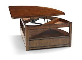 corner wedge lift top coffee table arbor wedge lift top cocktail table turner coffee table corner wedge