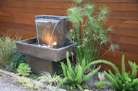 Small Backyard Water Feature Ideas Download Small Outdoor Water Fountains Solidaria Garden