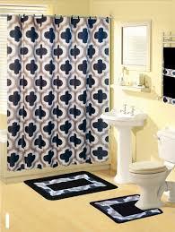 Aqua Bathroom Rugs by Curtain Shower Curtain And Bath Mat Set Bathroom Shower Curtain